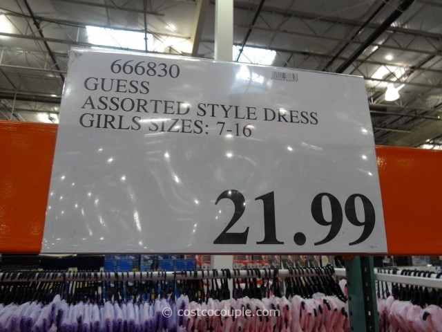 Guess Assorted Style Girls Dress Costco 1