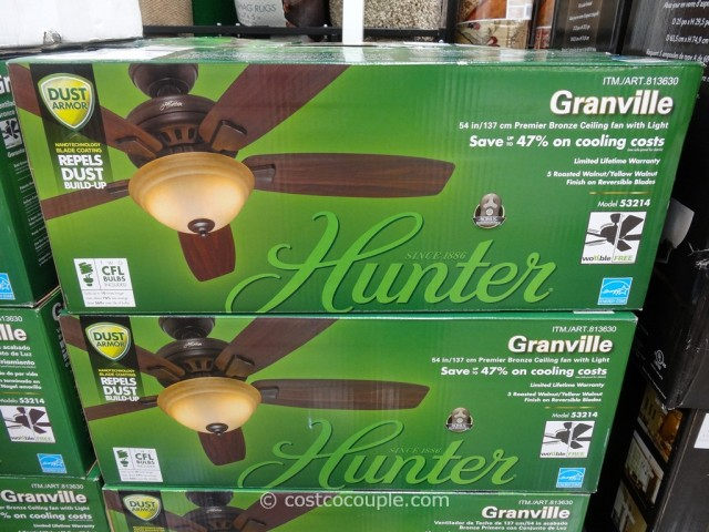 Hunter Granville Bronze Ceiling Fan Costco 1