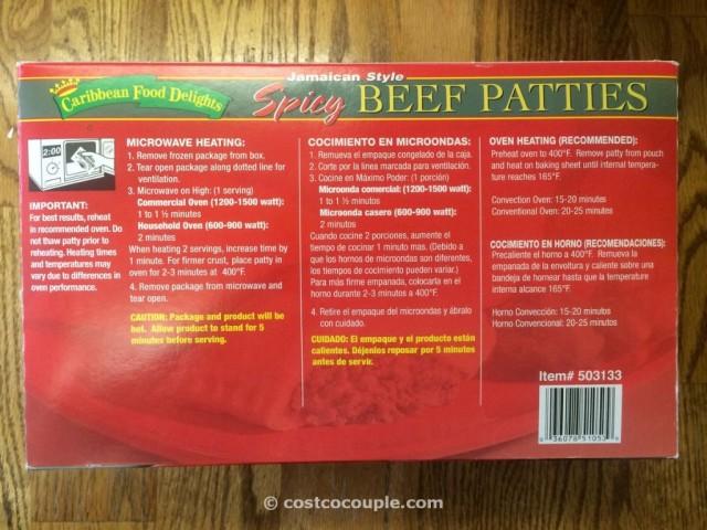 Jamaican Spicy Beef Patties Costco 2