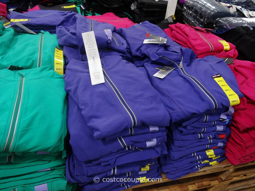 Kirkland Signature Ladies Full Zip Jacket Costco 3