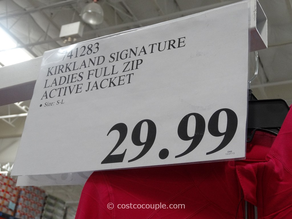 Kirkland Signature Ladies Full Zip Jacket