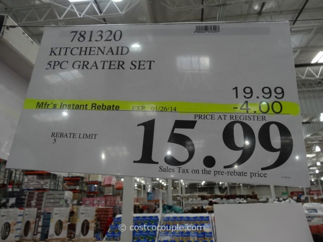 KitchenAid Box Grater and Cup Grater Set Costco 1
