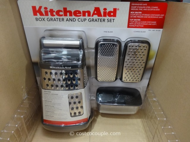 KitchenAid Box Grater and Cup Grater Set Costco 2
