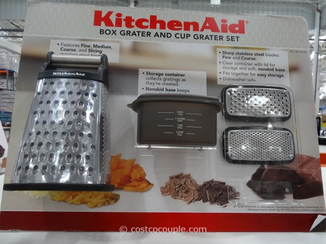 KitchenAid Box Grater and Cup Grater Set Costco 6