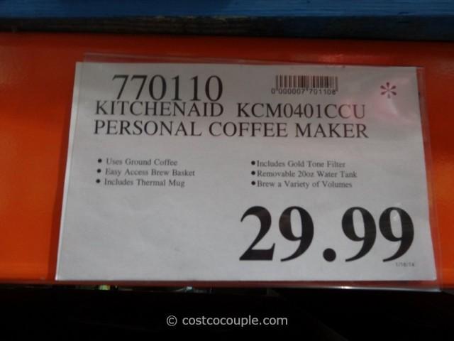 KitchenAid Personal Coffee Maker Costco 1