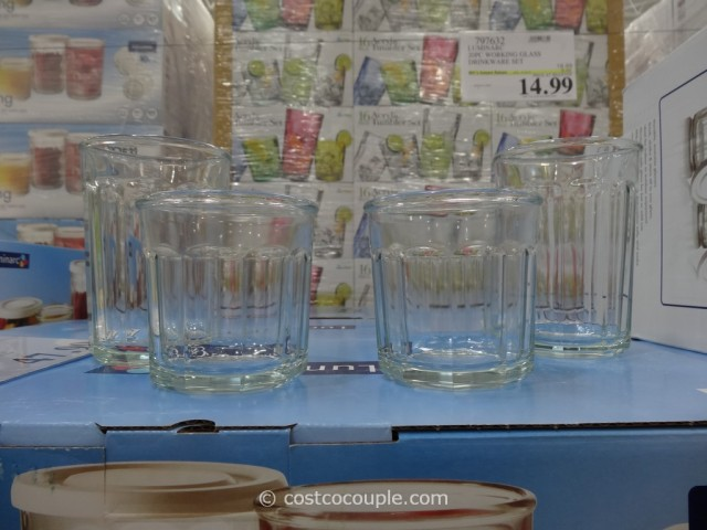 Luminarc Working Glass Drinkware Set Costco  2