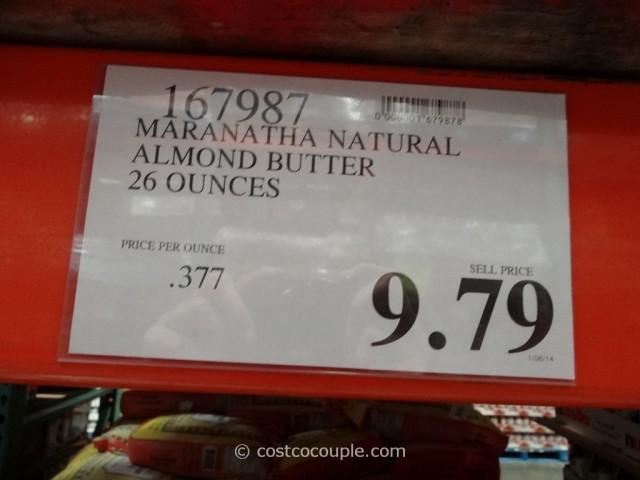 Maranatha Natural Almond Butter Costco 1