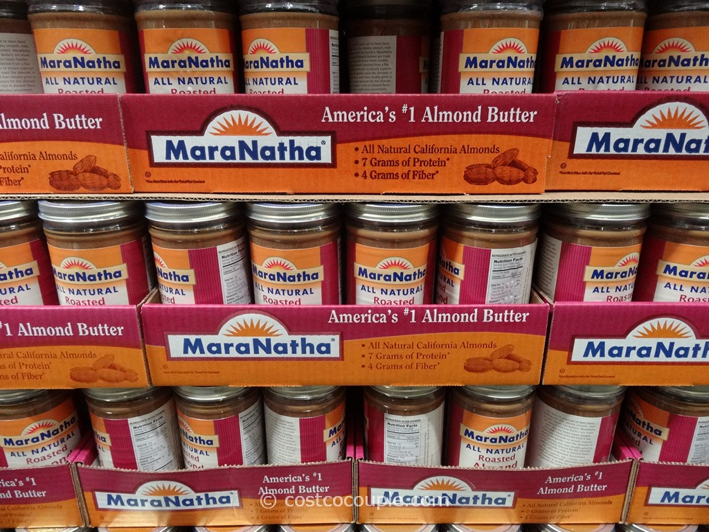 Maranatha Natural Almond Butter Costco 2