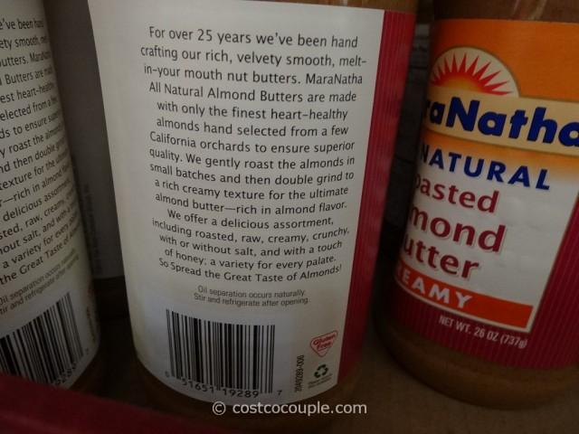 Maranatha Natural Almond Butter Costco 4