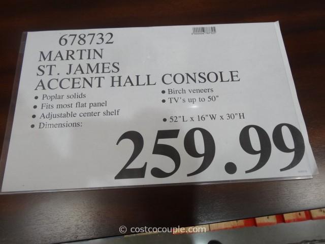 Martin St James Accent Hall Console Costco 1