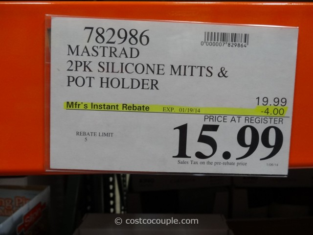 Mastrad Silicone Mitt and Pot Holder Costco 1