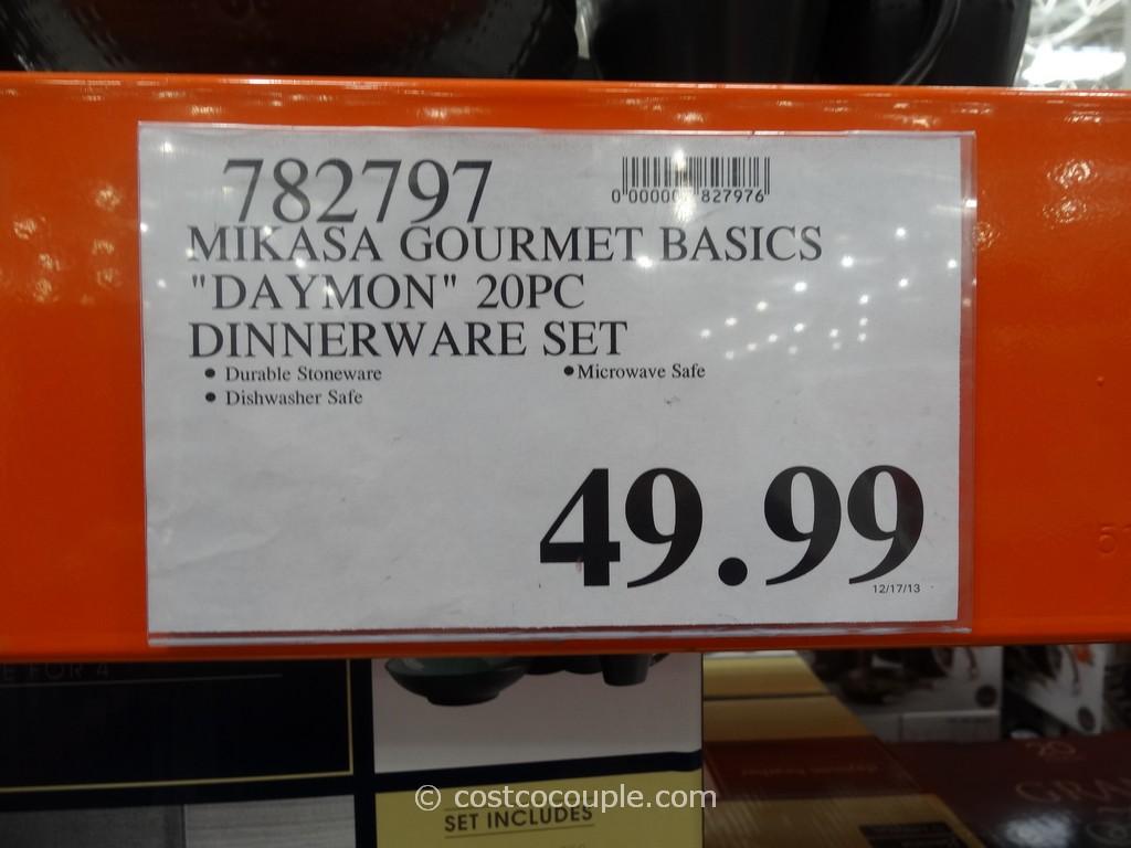 Mikasa Gourmet Basics Daymon Dinnerware Set & Stunning Mikasa Bowls Costco Gallery - Best Image Engine - tagranks.com