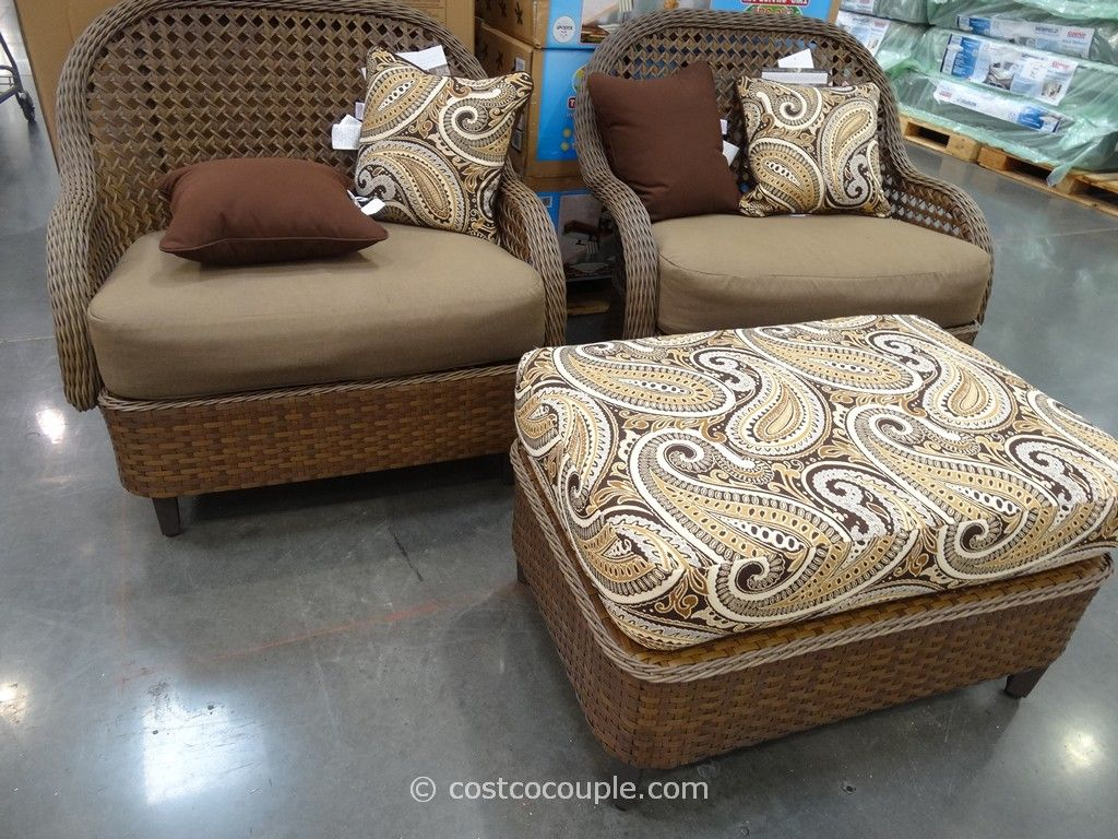 Monroe 3-Piece Woven Cuddle Set Costco 1