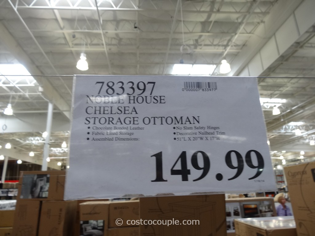 ... Noble House Chelsea Storage Ottoman Costco 1