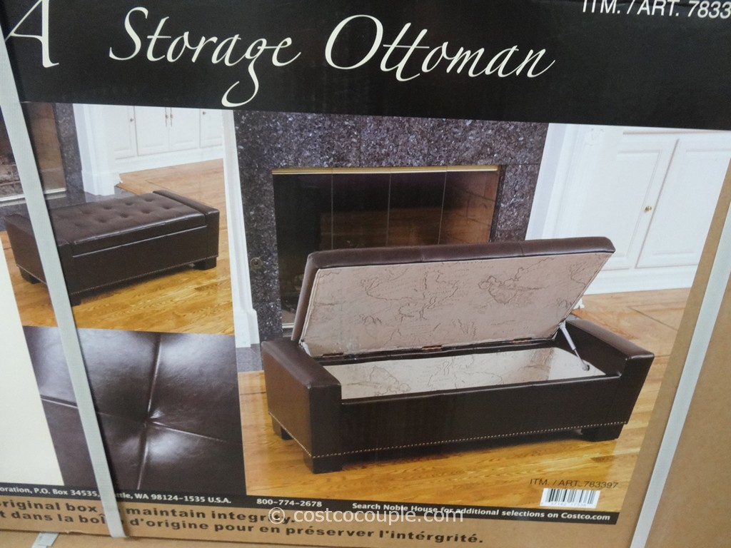 Noble House Chelsea Storage Ottoman Costco 3 ...