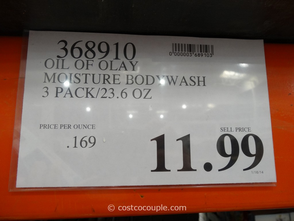 Olay Moisture Body Wash