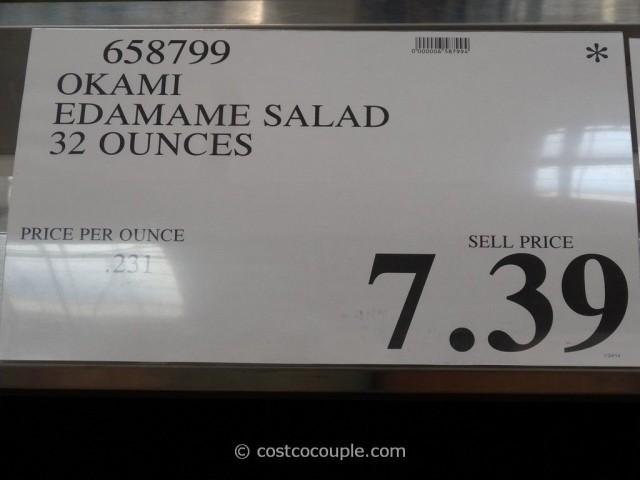 Okami Edamame Salad Costco 1