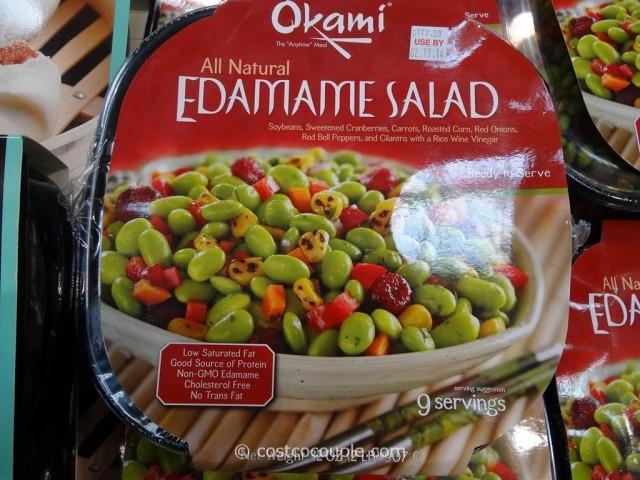 Okami Edamame Salad Costco 2