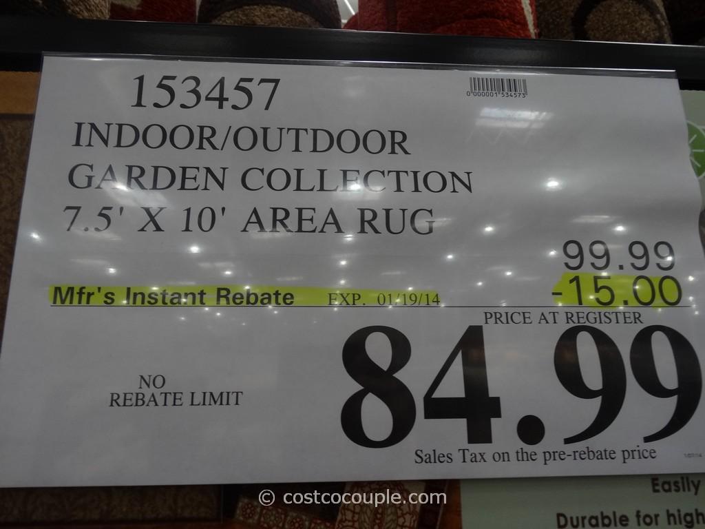 Beautiful ... Orian Indoor Outdoor Garden Area Rug Costco 1