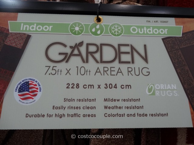 Orian Indoor Outdoor Garden Area Rug Costco 3