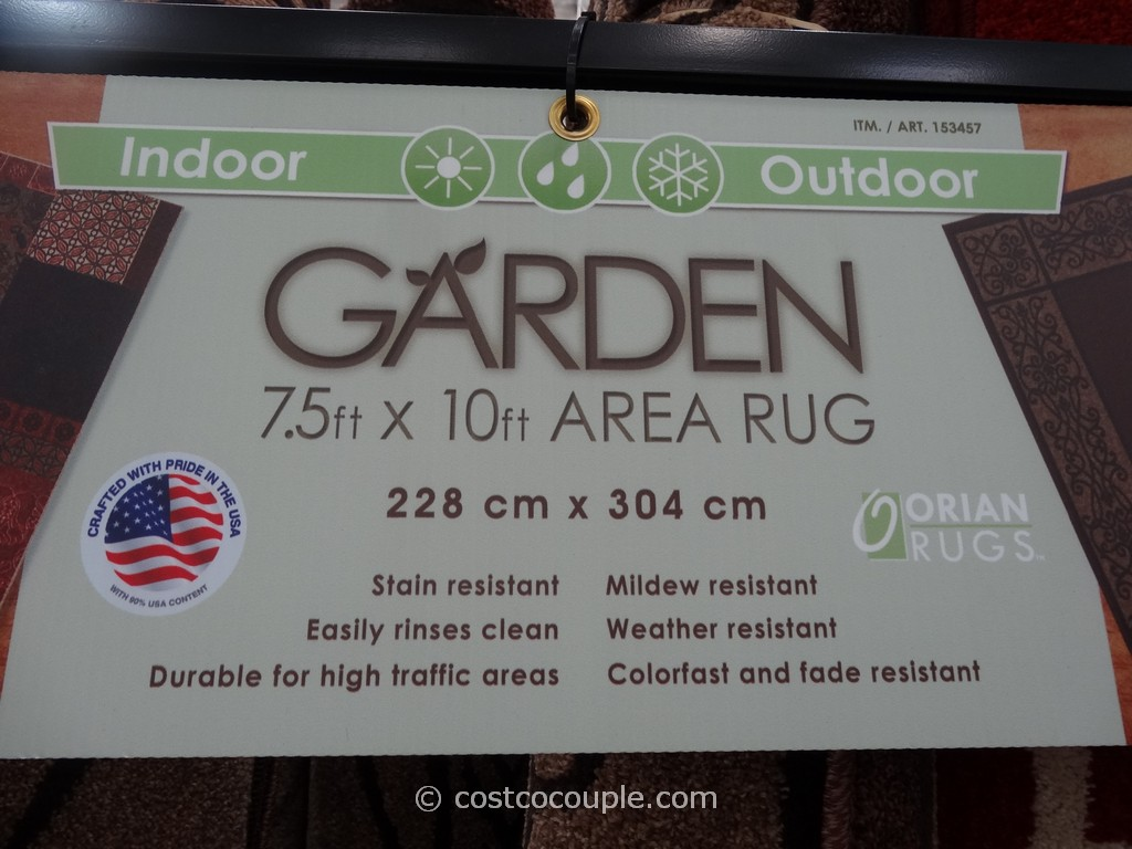 Orian Indoor Outdoor Garden Area Rug
