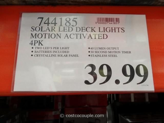 Paradise Dual Function Solar LED Light Costco 1