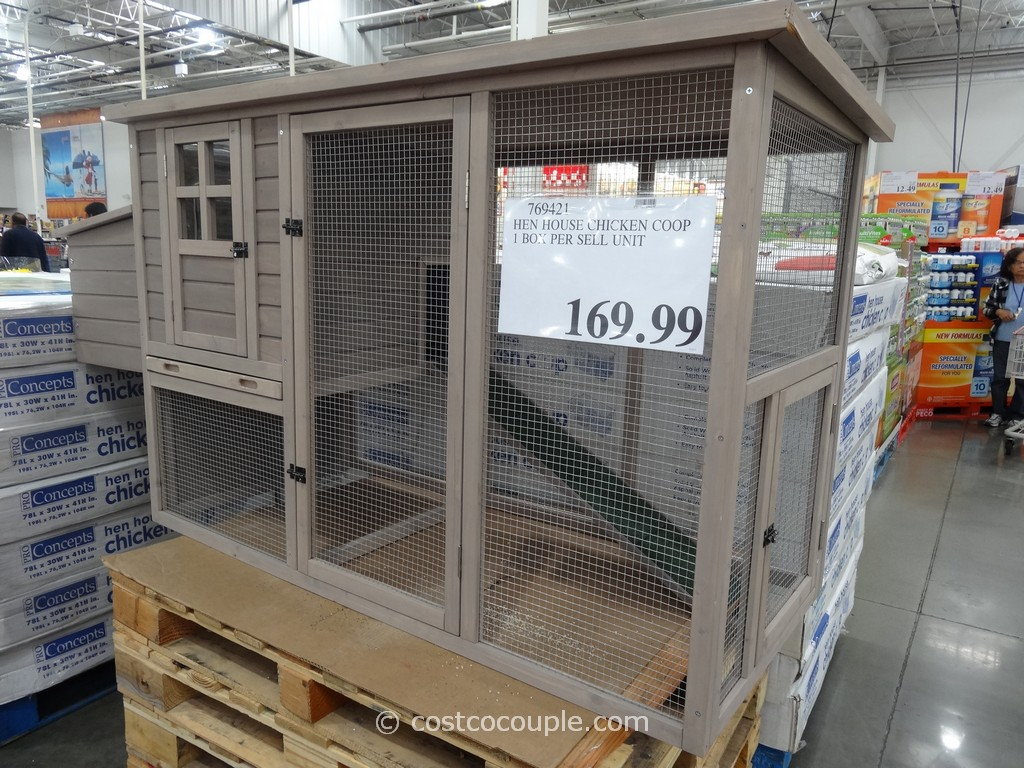 Pro Concepts Hen House Chicken Coop Costco 1