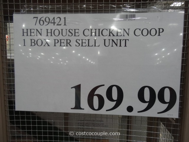 Pro Concepts Hen House Chicken Coop Costco 3