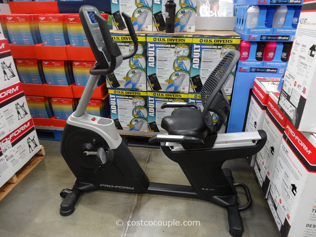 Pro-Form 4.0 RT Recumbent Bike Costco 2