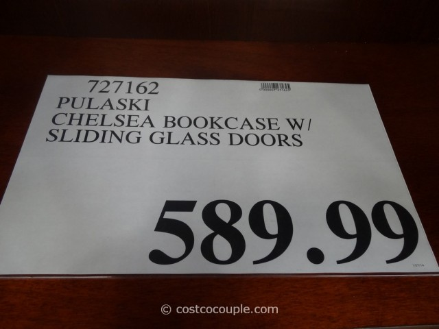 Pulaski Chelsea Sliding Door Bookcase Costco 1