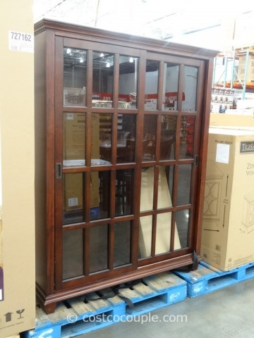 Pulaski Chelsea Sliding Door Bookcase Costco 3