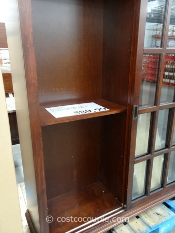Pulaski Chelsea Sliding Door Bookcase Costco 4