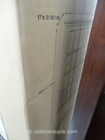 Pulaski Chelsea Sliding Door Bookcase Costco 5