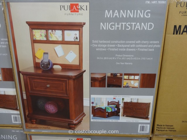 Pulaski Furniture Manning Nightstand Costco 2