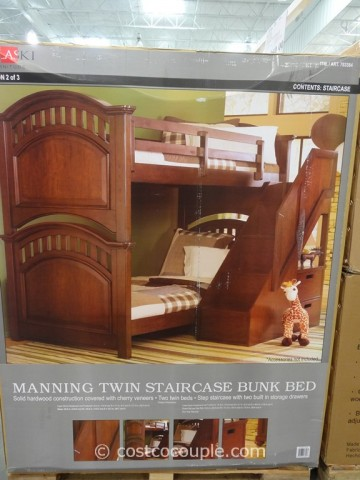 Pulaski Manning Bunkbed With Storage Costco 2