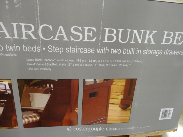 Pulaski Manning Bunkbed With Storage Costco 5
