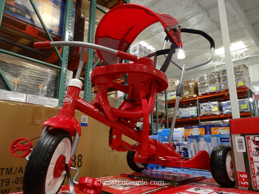 Radio Flyer Ride and Stand Stroll N Trike Costco 2
