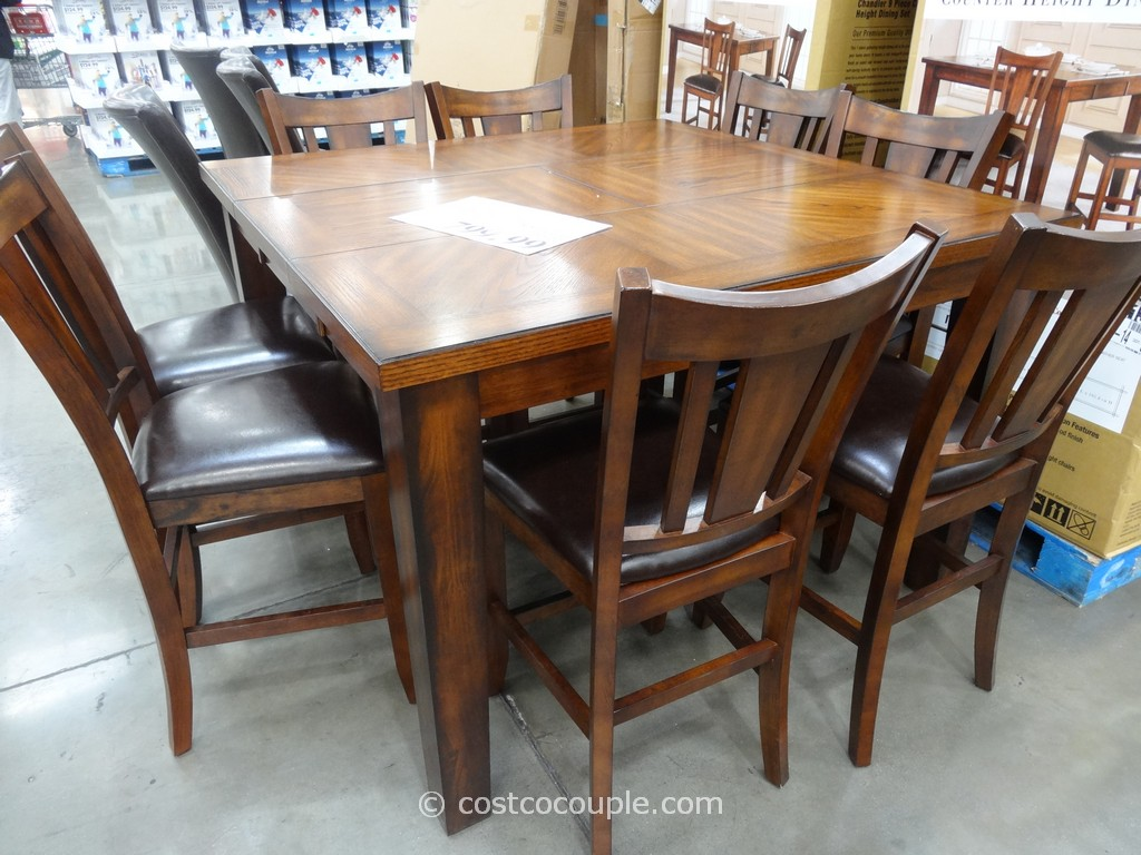 similar to the popular charleston 9 piece counter height dining set