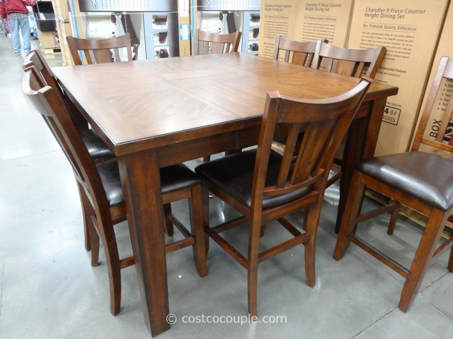 Regal Living Chandler Counter Height Dining Set Costco 2
