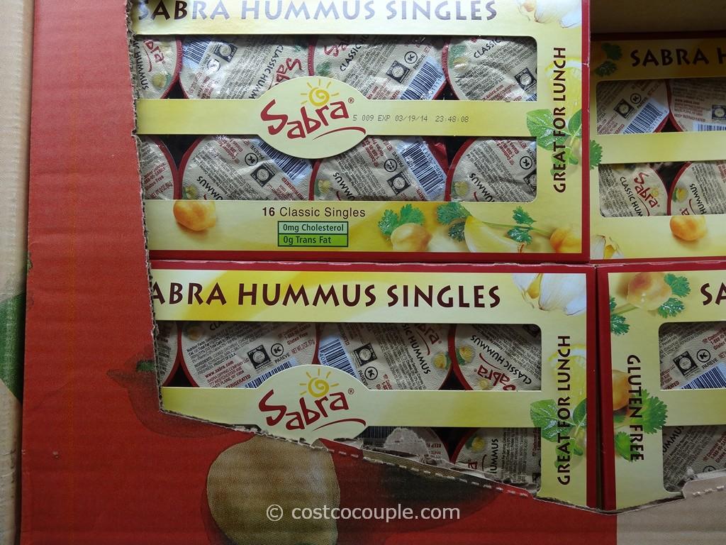 Sabra Hummus Singles Pack Costco 1