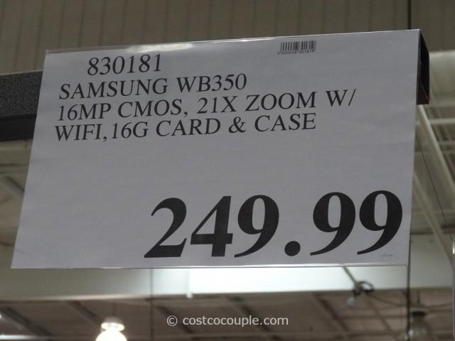 Samsung Smart Camera WB350F Costco 1