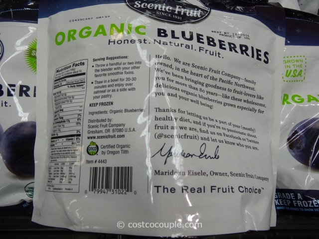 Scenic Fruit Organic Blueberries Costco 2
