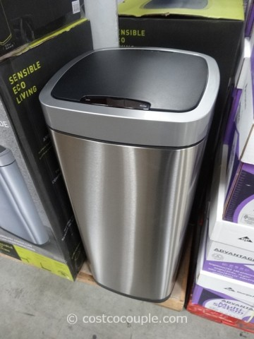 Sensible Eco Living Motion Sensor Trash Can Costco 2