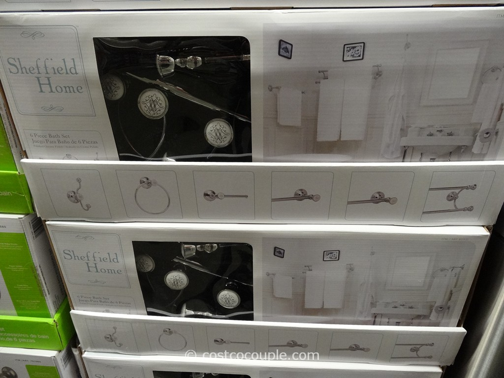 Sheffield Home French Style Bath Set Costco 2