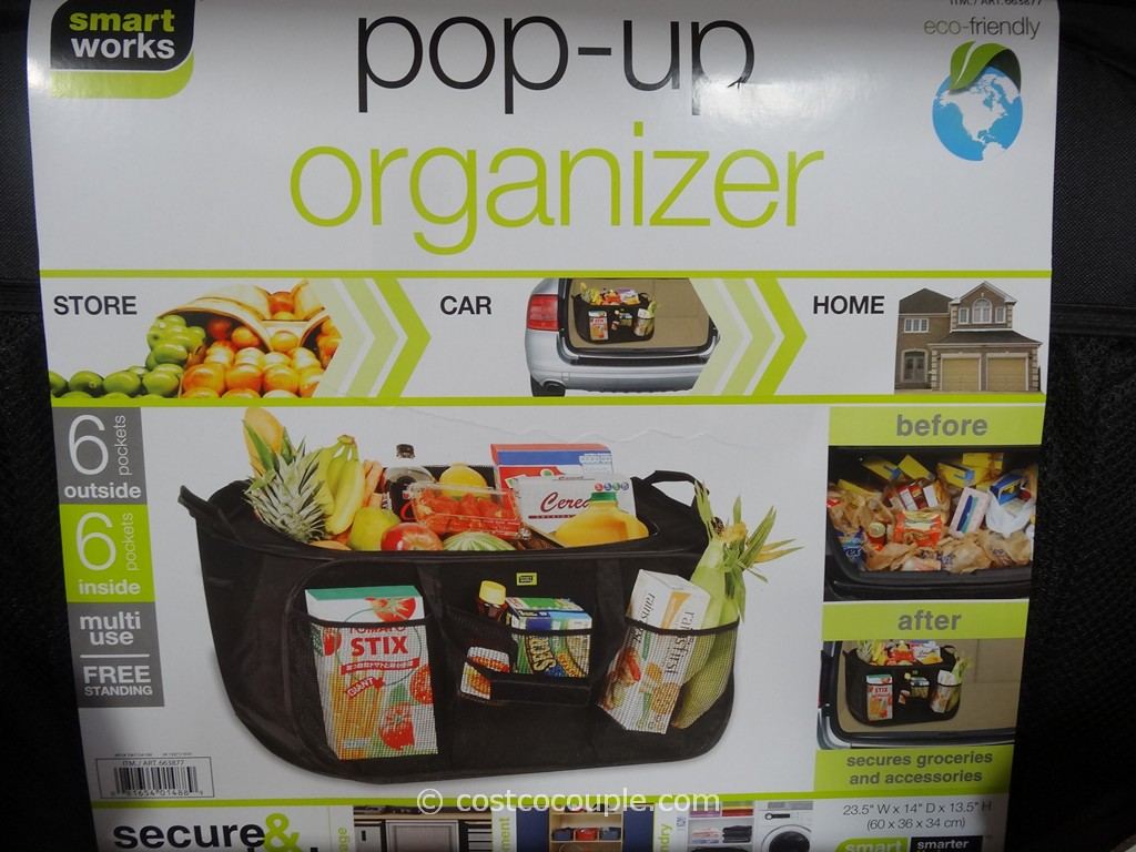 Smart Works Popup Organizer Tote Costco 3