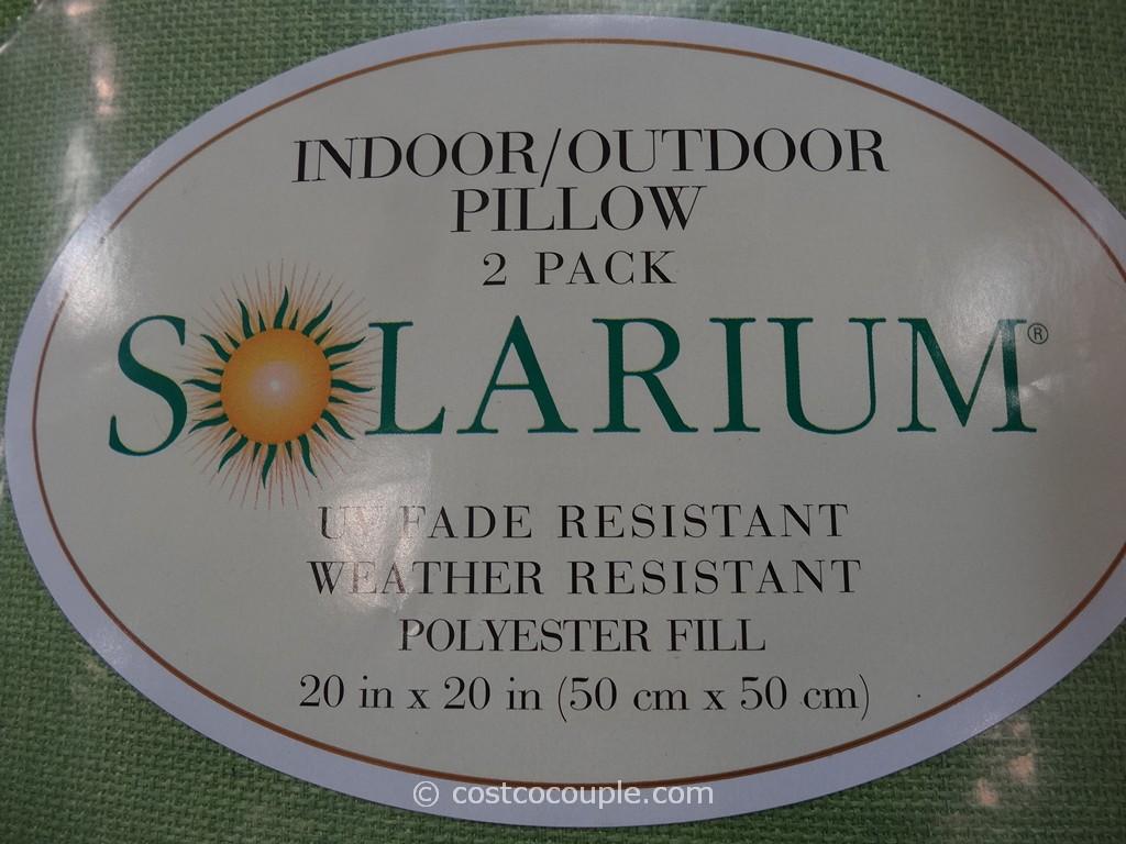 Solarium Indoor Outdoor Pillows Costco 3 4