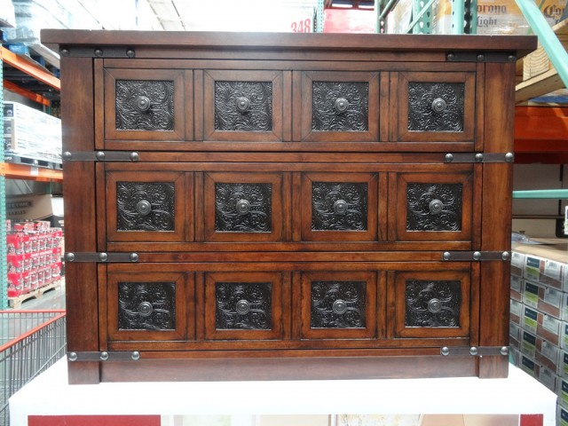 Stein World Chesterfield Apothecary Chest