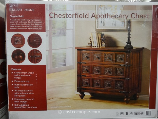 Steinworld Chesterfield Apothecary Chest Costco 4