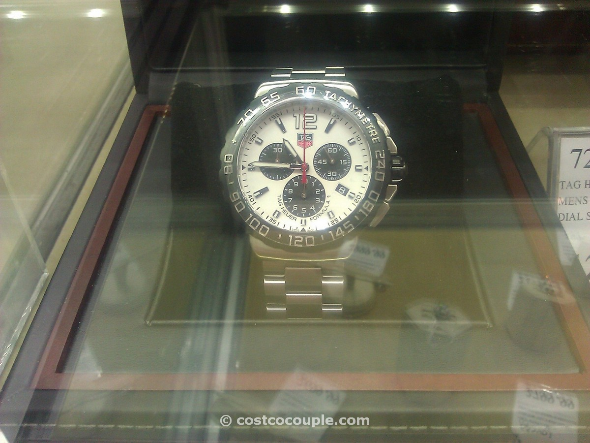 TAG Heuer Formula 1 White Costco 1
