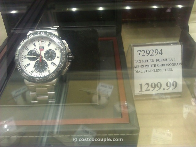 TAG Heuer Formula 1 White Costco 2